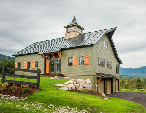 Barn style house plans home sweet home for Small metal barn homes