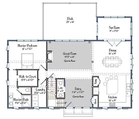 Barn Style House Plans...Home Sweet Home!