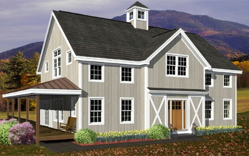 Barn Style House Plans...Home Sweet Home! on modern open concept, wood floors open concept, bathroom open concept, small open concept, living room open concept, kitchen open concept,
