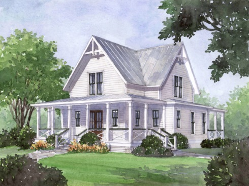 Midsize farm house floor plans for modern lifestyles for Charming cottage house plans