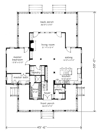 Midsize Farm House Floor Plans for Modern Lifestyles!