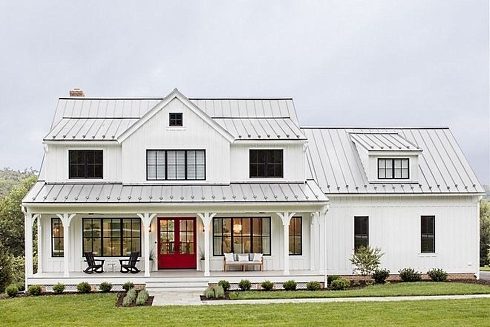 Standout Farmhouse Designs...Inspiring Farm and Barn Homes! on cottage barn homes, prefab barn homes, contemporary barn homes, earth sheltered barn homes, colonial barn homes, gambrel barn homes, french country barn homes, victorian barn homes, rustic barn homes, farm barn homes, modular barn homes,
