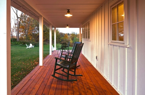 farm house porch