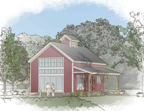 Small barn house plans soaring spaces for House barn plans floor plans