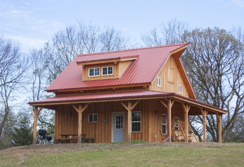 Small barn house plans soaring spaces for Two story pole barn homes