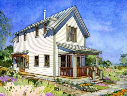 Small farm house plans opportunities for growth for Farmhouse cottage house plans