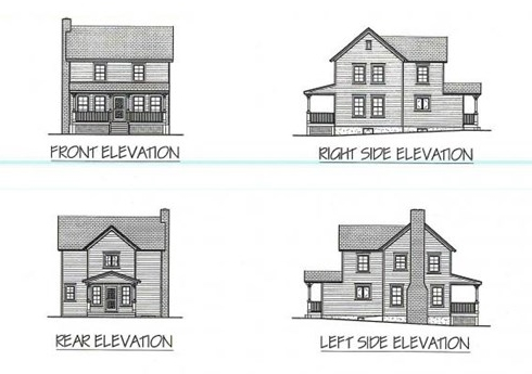 Small House Plan Designs for Farm and Barn Cottages!