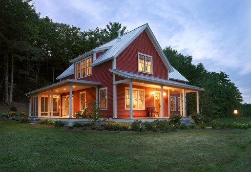 Farm house designs more popular than ever for Farmhouse style modular homes
